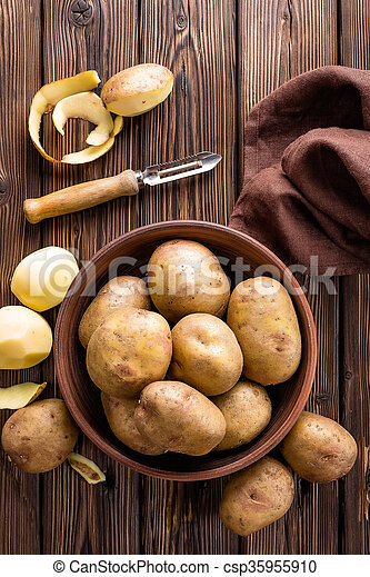 potatoes - csp35955910