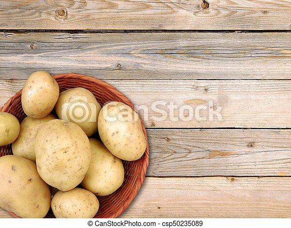 potatoes - csp50235089