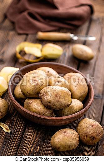 potatoes - csp35956059