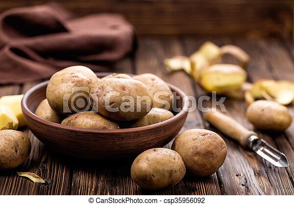 potatoes - csp35956092