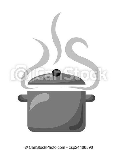 pote, cozinhar - csp24488590