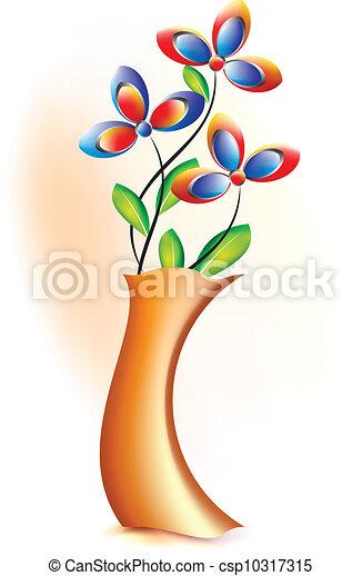 pote, flor - csp10317315