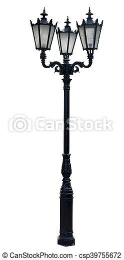 poteau lampe - csp39755672