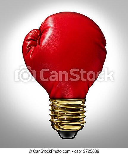 Energía creativa - csp13725839