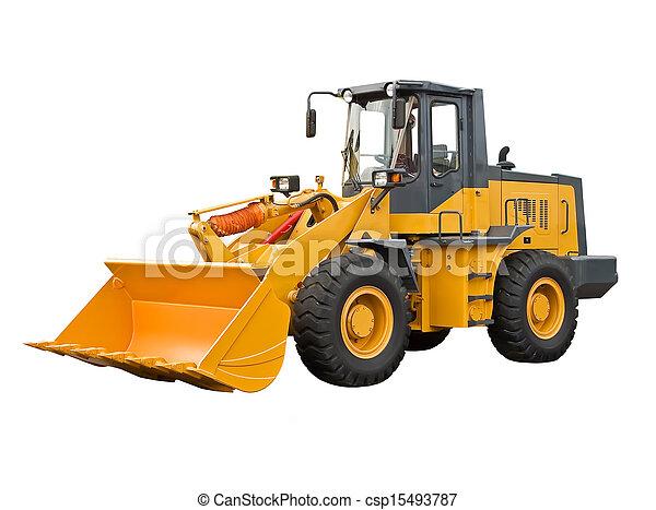 potente, bulldoser - csp15493787