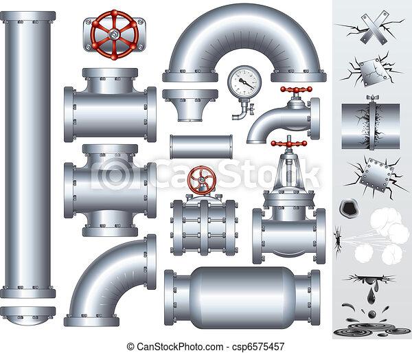 potrubí, průmyslový - csp6575457