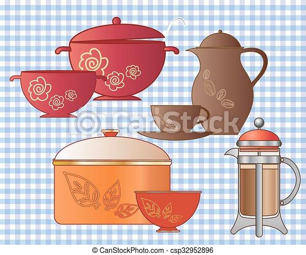 pots and pans - csp32952896