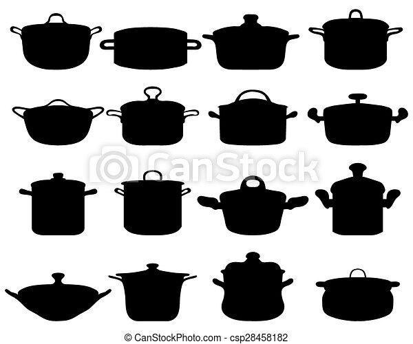 pots and pans - csp28458182