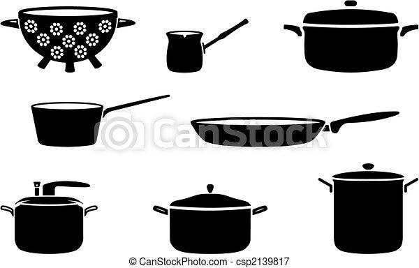 Pots and pans - csp2139817