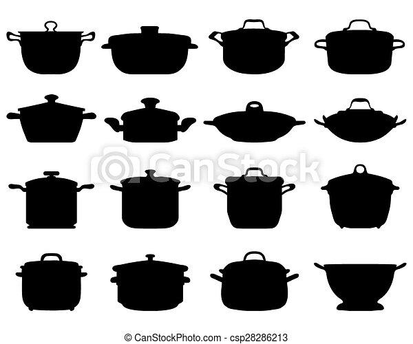 pots and pans - csp28286213