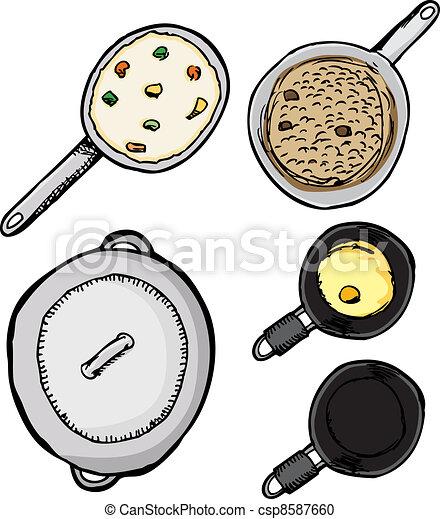 Pots and Pans - csp8587660