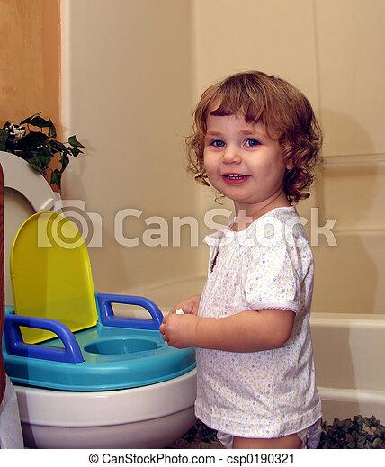 Hora del baño - csp0190321
