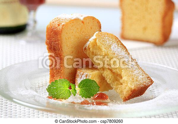 Pound cake - csp7809260