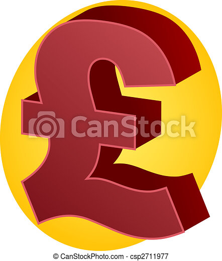 Pound Currency United Kingodm Pound Sterling Currency Symbol
