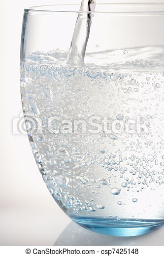 Pouring A Glass Of Water - csp7425148