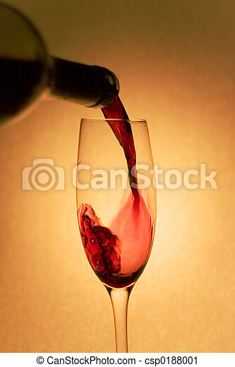 Pouring Red Wine - csp0188001