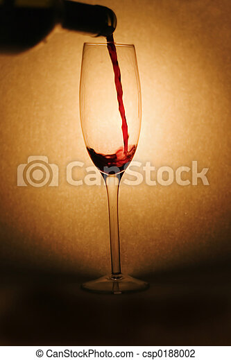 Pouring Red Wine - csp0188002