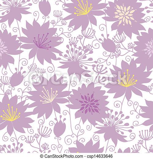pourpre, modèle, seamless, florals, fond, ombre - csp14633646
