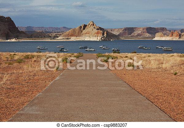 Powell lake - csp9883207