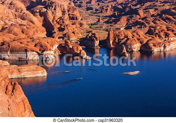 Powell lake - csp31963320