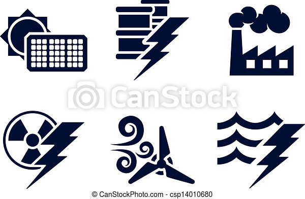 Power and Energy Icons - csp14010680