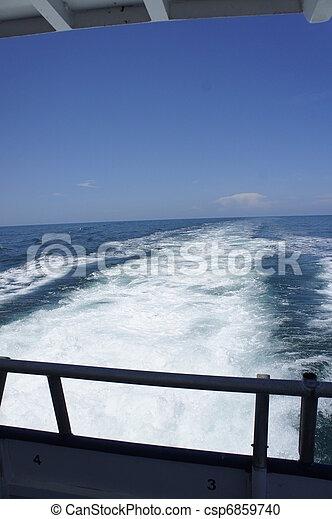 Power Boat - csp6859740