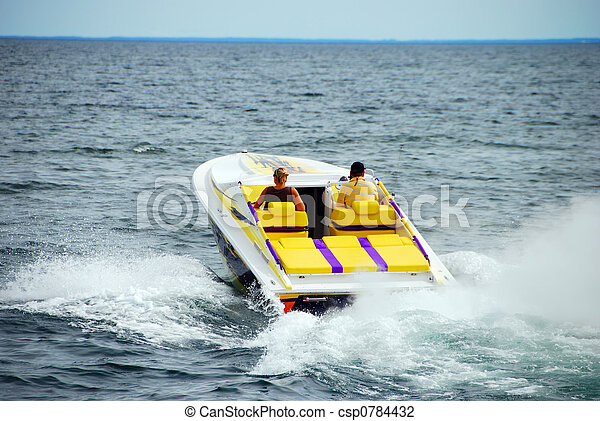 Power Boating - csp0784432