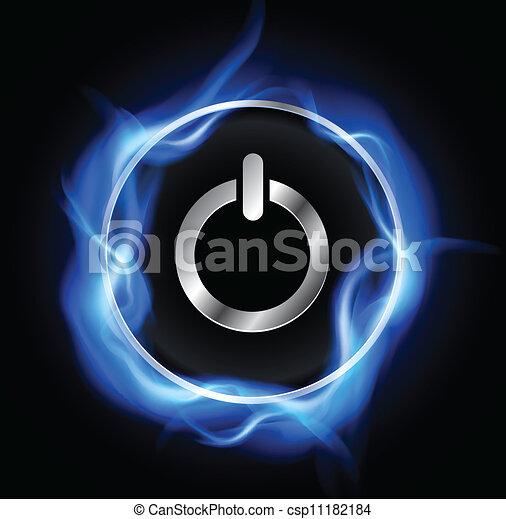 Power button - csp11182184