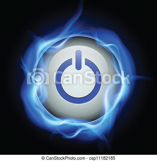 Power button - csp11182185