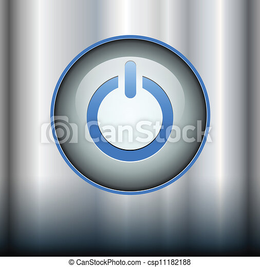 Power button  - csp11182188
