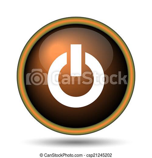 Power button icon - csp21245202