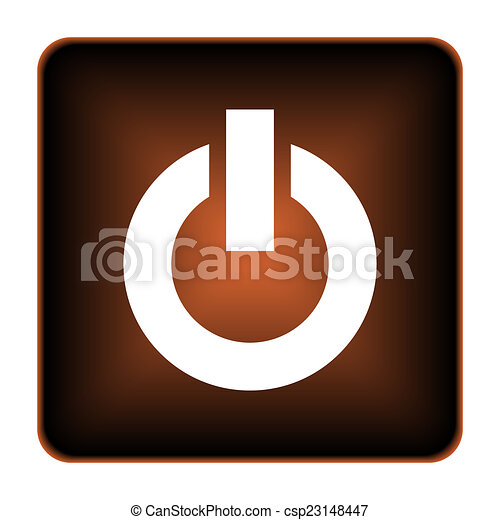 Power button icon - csp23148447