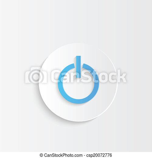 Power Button - csp20072776