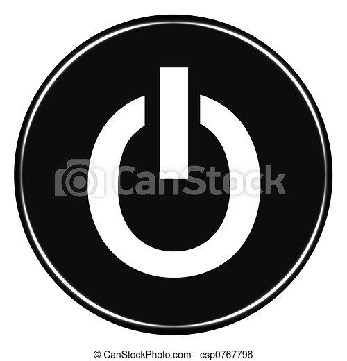 Power Button - csp0767798