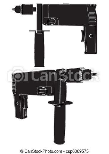 Power Drill  - csp6069575