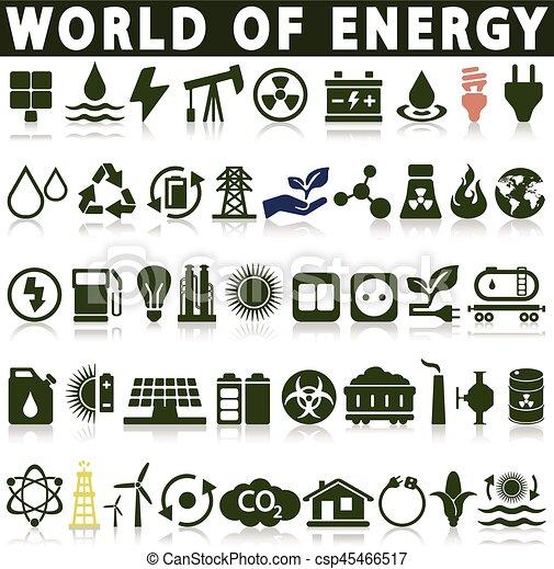 Power Energy Sources - csp45466517