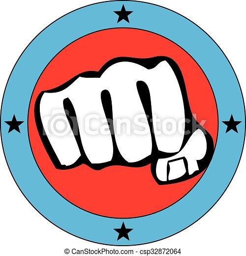 power fist mma karate boxing logo clip art vector search rh canstockphoto com karate logo photo karate logo design