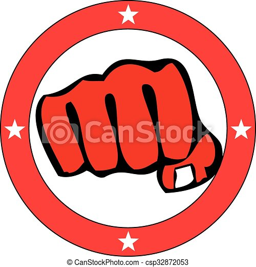power fist mma karate boxing logo clipart vector search rh canstockphoto com boxing logos designs boxing logo maker