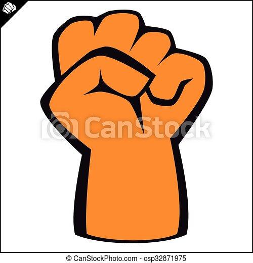 power fist mma karate boxing logo black belt power fist rh canstockphoto com  mma fighters clipart