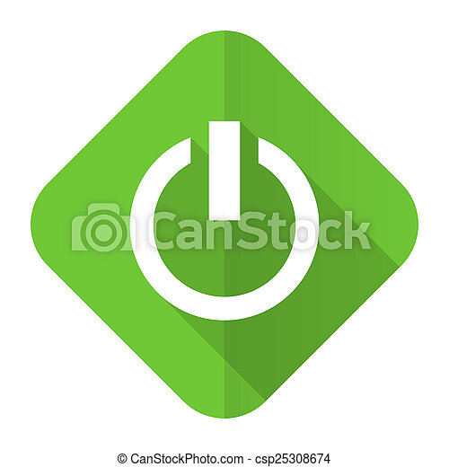 Power Flat Icon On Off Sign Picture Search Photo Clipart Csp25308674