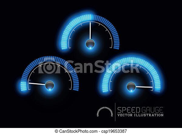 Electricity Meter Vector