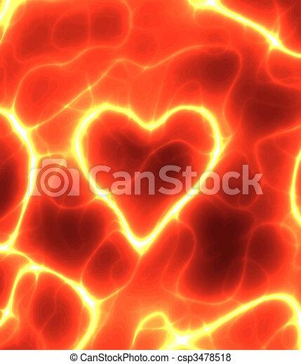 power heart - csp3478518