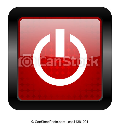 power icon - csp11381201
