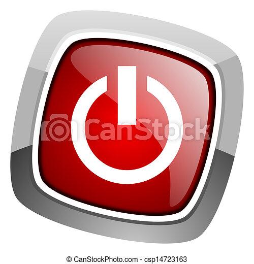 power icon - csp14723163