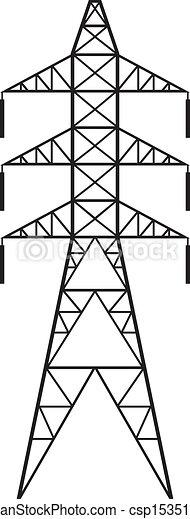 Power line - csp15351662