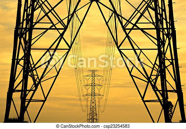 Power line - csp23254583