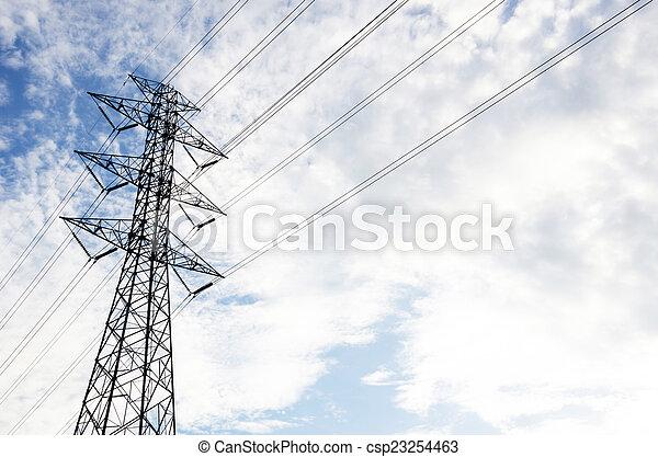 Power line - csp23254463