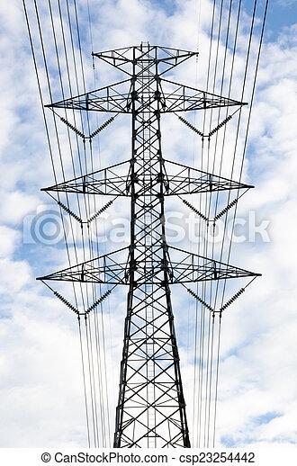 Power line - csp23254442