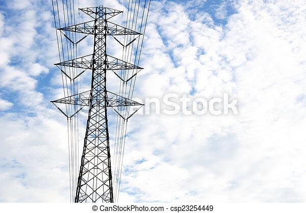 Power line - csp23254449