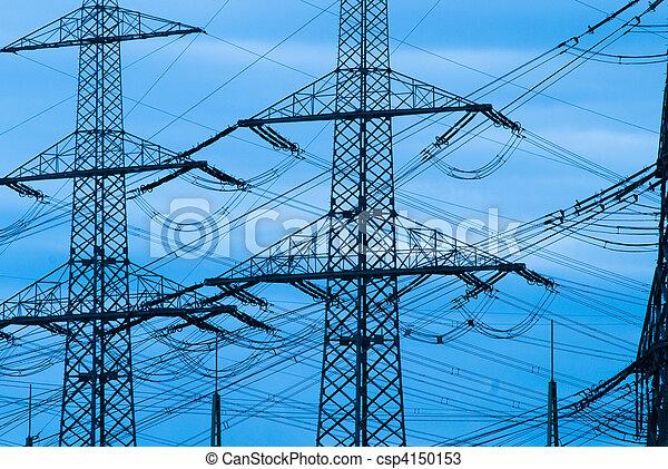 Power lines - csp4150153